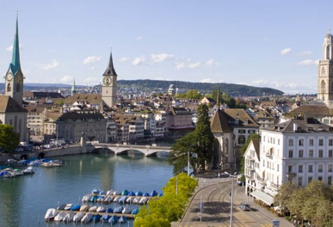 Zürich! World class. Swiss made.