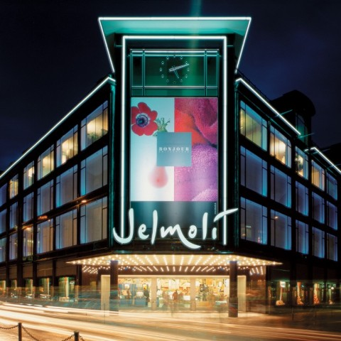 Zurich, Jelmoli Mall (Bahnhofstrasse)